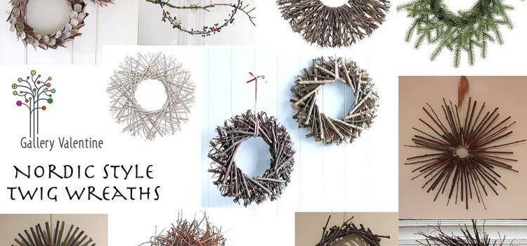 Nordic Style Twig Wreath Making