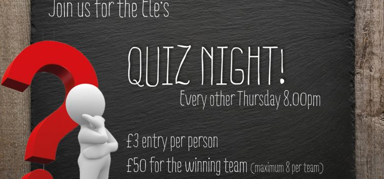 The Ele Quiz Night